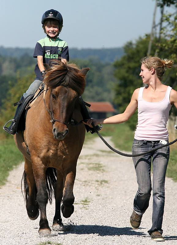 Ponyreiten Radagais